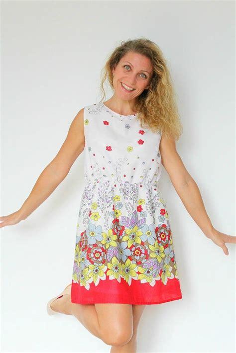 gathered waist summer dress pattern favecraftscom