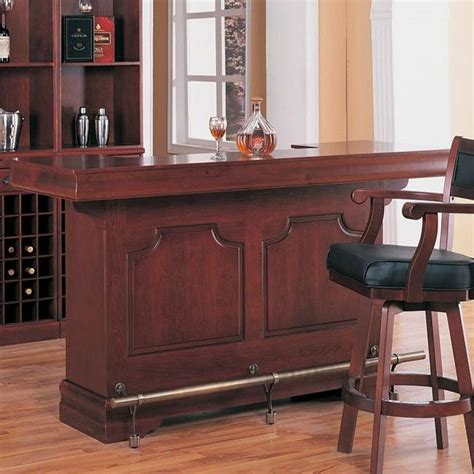 Home Bar Furniture With Sink by Lambert Bar With Sink Coaster Furniture 1 Reviews