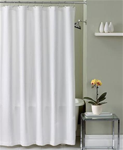 hotel collection bath accessories lattice shower curtain