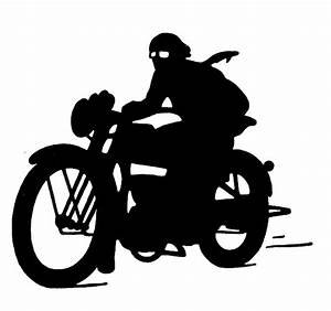 Motorcycle Silhouette Clipart - Clipart Suggest