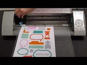 silhouette america printable white sticker paper youtube With how to print on sticker paper
