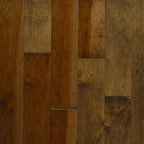 hardwood flooring layered stain sles maple bruce american originals brown earth red oak 3 4 in t x 3 1 4 in w x varying l solid hardwood