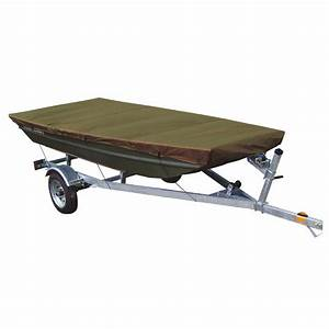 Leader Accessories Olive Jon Boat Cover Fits To 10ft Beam