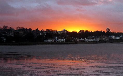 Sunset In Ryde A Photo From Isle Of Wight England