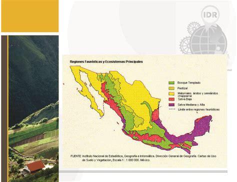 las regiones naturales de mxico regionalizaci 243 n introduccion al desarrollo regional
