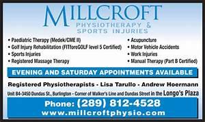 Millcroft Physiotherapy & Sports Injury Clinic - B 4-3450 ...
