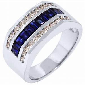 Details about 2015 ford mustang v6 convertible rwd for Mens wedding ring with blue diamonds
