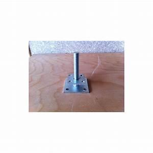 Pieds Réglables En Hauteur : pied de poteau r glable en hauteur de 40 140 mm ~ Dailycaller-alerts.com Idées de Décoration