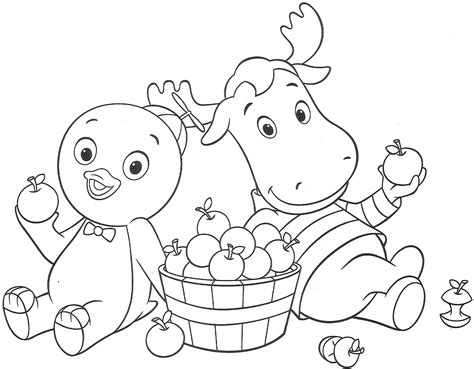 The Backyardigans Coloring Pages - Eskayalitim