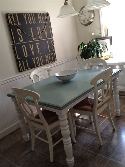 chalk paint table and chairs dining room chair makeover on pinterest annie sloan