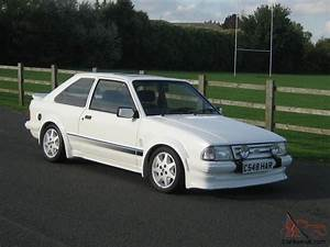 Escort Rs Turbo : 1985 ford escort rs turbo white series 1 only 69000 miles loads of srvice histor ~ Medecine-chirurgie-esthetiques.com Avis de Voitures