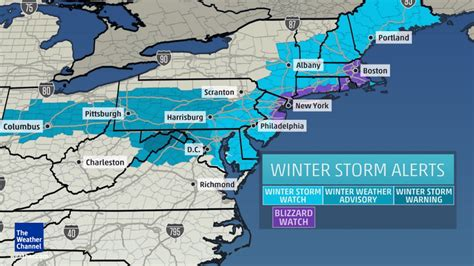 quot historic quot blizzard to slam northeast on monday a foot of snow expected in new york