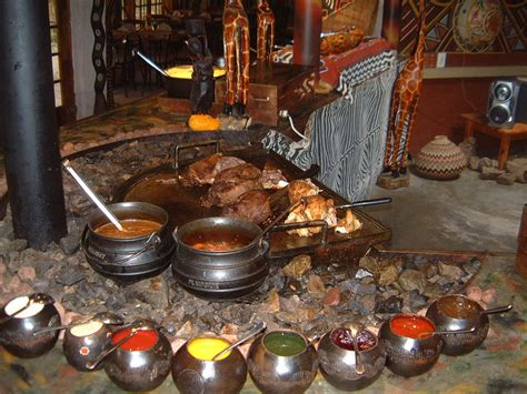 traditional cuisine of half day lesedi cultural tour jenman safaris