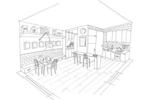 dessin de cuisine à imprimer cuisine 27 bâtiments et architecture coloriages à