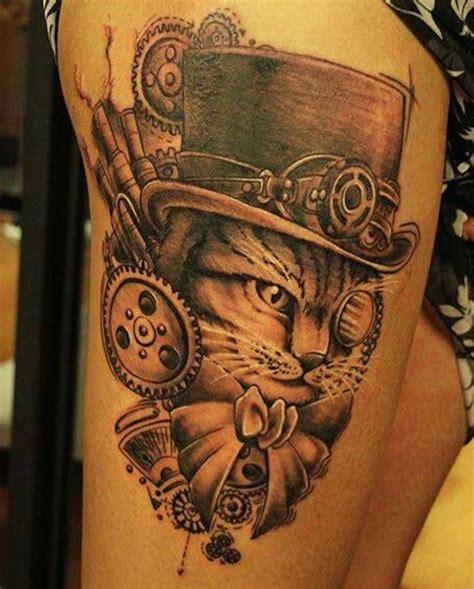 great steampunk tattoo designs tattoocom tattoos