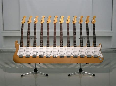 12 Neck Electric Guitar   1 Design Per Day