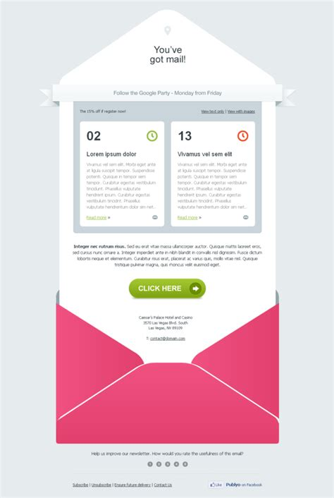 designing an email template 17 tips to design email templates that are inbox optimized 183 techmagz