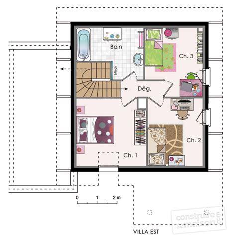 plan maison une chambre maisons dé du plan de maisons faire
