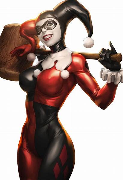 Quinn Harley Batman Joker Dc Arkham Transparent
