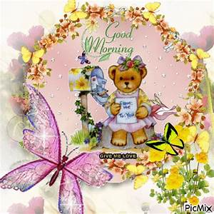 Teddy Bear Good Morning Gif Pictures, Photos, and Images ...