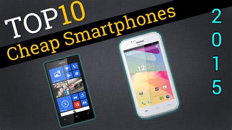 Top 10 Cheap Smartphones 2015  Compare Best Cheap