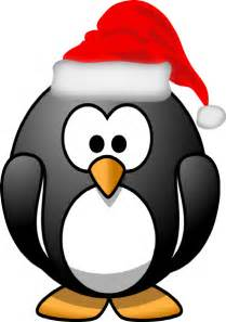 christmas penguin clip art at clker com vector clip art online royalty free public domain