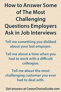 Questions To Ask On An Informational Interview Answering Difficult Interview Questions Difficult