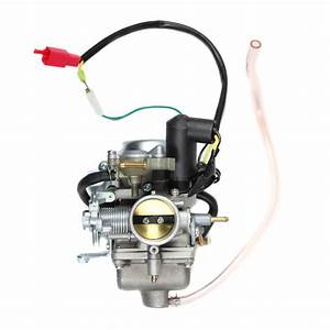 Chinese Gy6 250cc Carburetor - Electric Choke