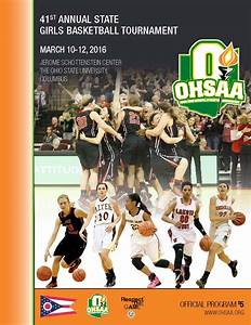 2016 OHSAA Girls Basketball State Tournament Coverage