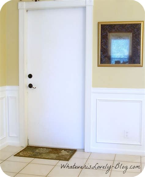 Faux Wainscoting by Diy Faux Wainscoting