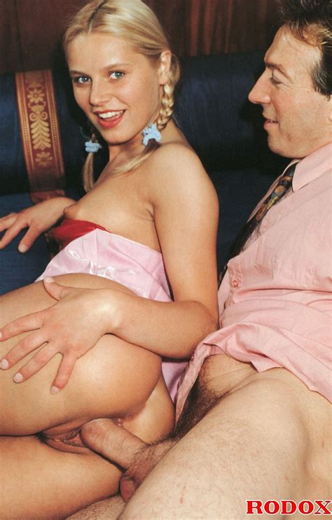 Very Cute Retro Blonde Banged By Her Horny Xxx Dessert Picture 8
