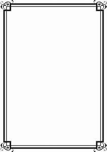 Double Line Border Clipart - ClipartXtras