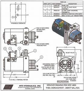 12v Hydraulic Power Pack