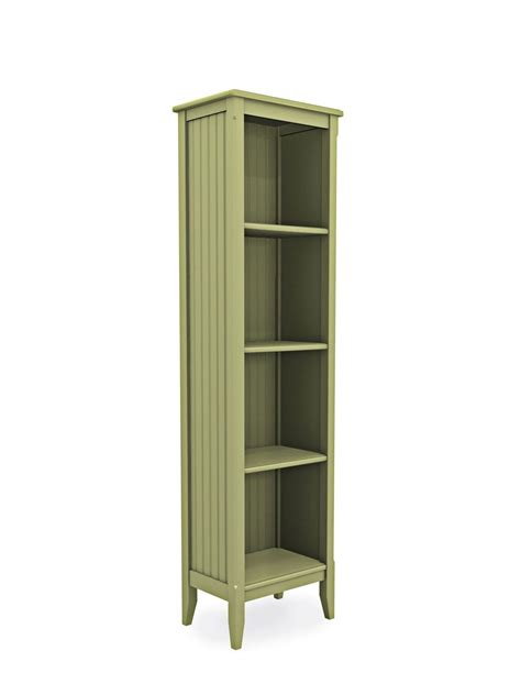 Narrow Bookcase by Cottage Narrow Bookcase Cottage Home 174