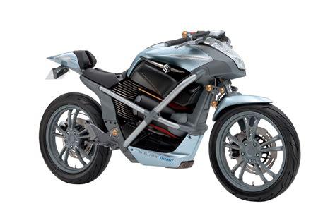 Suzuki Patents Hybrid Motorcycle
