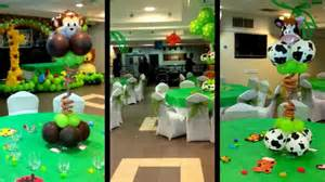 jungle baby shower favors jungle theme balloon decoration