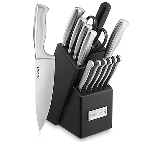 cuisinart kitchen knives buy cuisinart stainless steel hollow handle 15