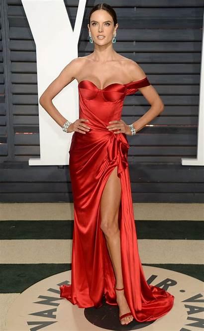 Ambrosio Alessandra Oscar Vanity Fair Celebrity Shoulder