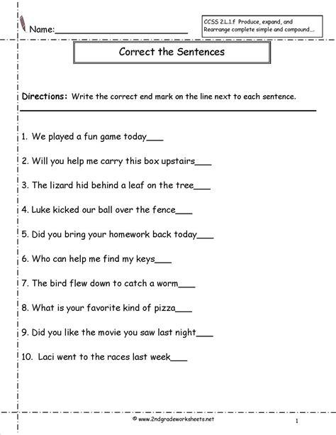 images  question words worksheets  grade