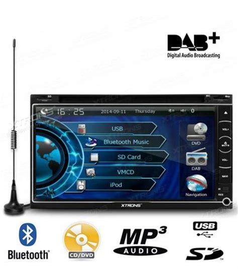 autorradio xtrons 2 din con antena dab radio digital gps