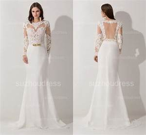 Elegant Designer Hot Sexy Evening Gowns Sleeves Prom Lace ...