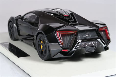 Top Marques Collectibles Lykan Hypersport, 1:18 black | TOP30C