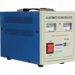 TOPOW AVR500 Step-Down Transformer (500W) AVR500 B&H Photo ...