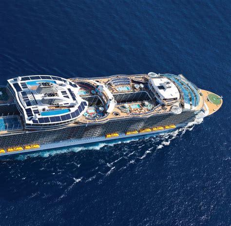 größte passagierschiff der welt of the seas gr 246 223 tes kreuzfahrtschiff in europa welt