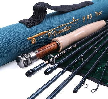 maxcatch  traveler  piece fly rod im carbon travel