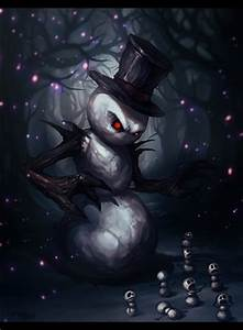 evil snowman | the Eerie and Macabre | Pinterest