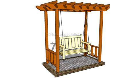 build diy outdoor arbor swing plans plans wooden how to build wood raised bed 171 empty51pkw
