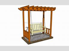 Build DIY Outdoor arbor swing plans Plans Wooden how to