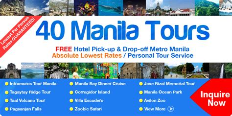 day tour near manila