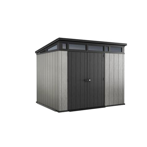 keter sheds review keter artisan 9 ft x 7 ft resin storage shed 237828